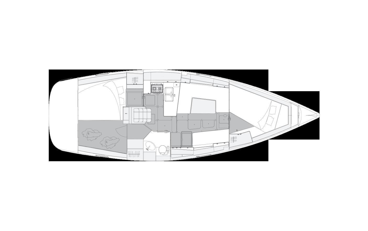 i40.1 - 2 cabins & 1 head