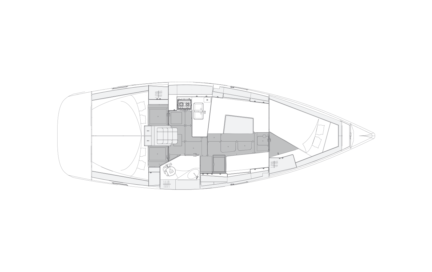 i40.1 - 3 cabins & 1 head
