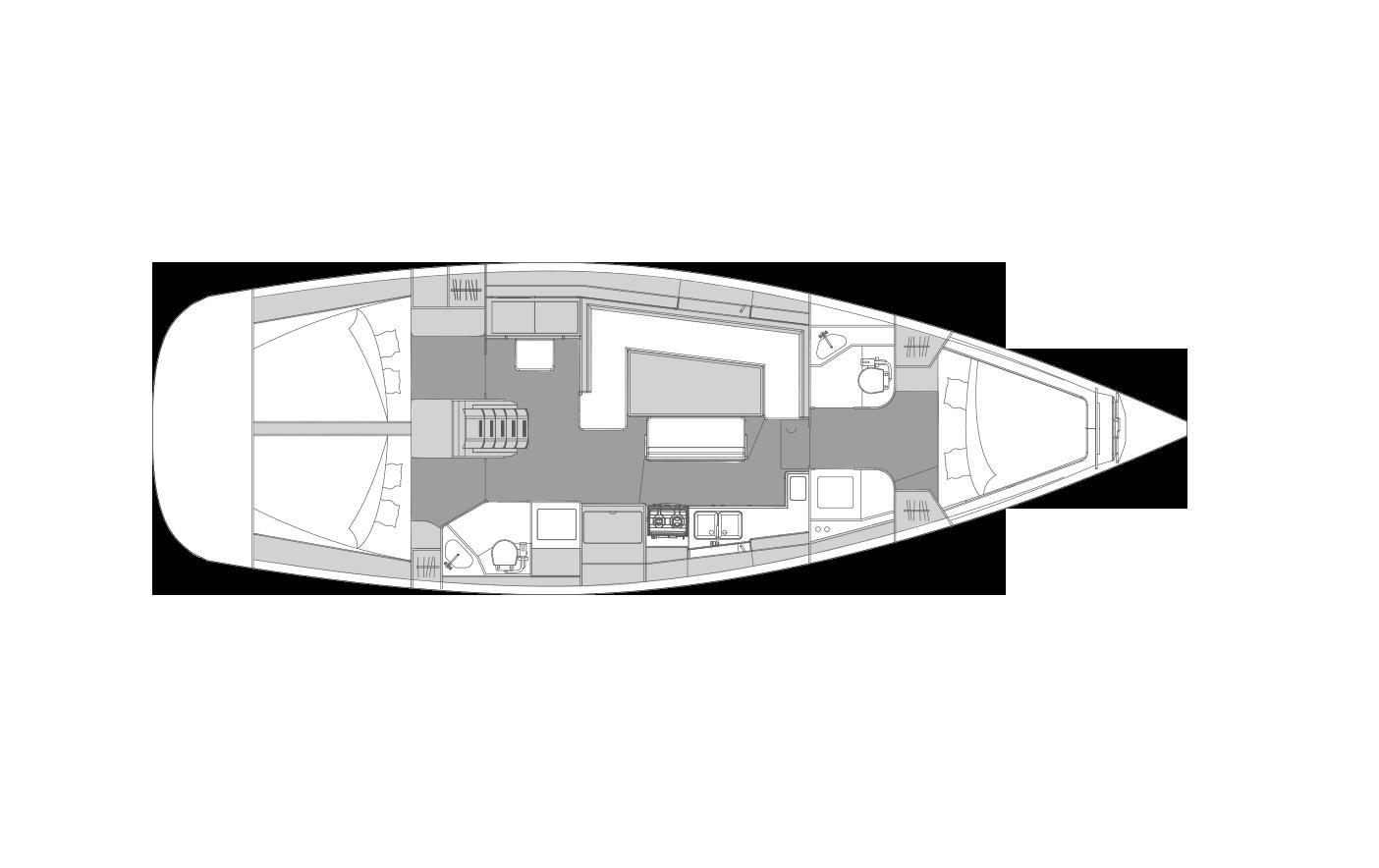 i45 - 3 cabins & 2 heads
