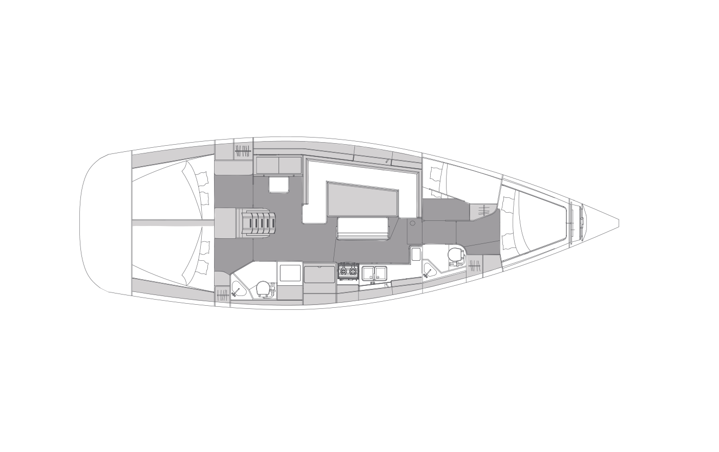 i45 - 4 cabins & 2 heads
